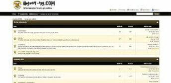 hogwart-rpg forum
